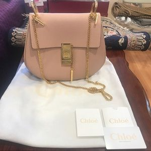 SOLD OUT AUTHENTIC DUSTY ROSE PINK CHLOE DREW BAG
